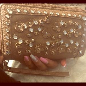 Large Three Compartment Wallet/Clutch.